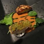 Il Giglio - 鮮魚と旬菜のソテー タラバ蟹のトルタと殻の濃厚なソース