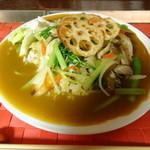 イグレック - 野菜カレー(大盛り)