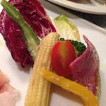 タヴェルナ グイダ - お野菜のマリネ