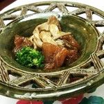 はる将 - 料理写真:牛すじとキノコ煮