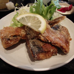 ジャスミン食堂 - さっくりと揚がった鯖