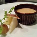 コモディーノ - アールグレイのパンナコッタ(お手軽ディナーコース)