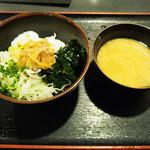 渋谷宇田川町のひもの屋 - 海鮮漬けとろろ丼