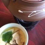 松茸山 別所和苑 - 土瓶蒸しと茶碗蒸し