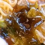 食堂かねこ - えりもラーメン(海藻)