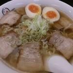 会津喜多方ラーメン 小法師 - 味玉ラーメン(大盛)