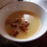 レストラン サンピア - コーンスープ