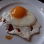 レストラン サンピア - 目玉焼き