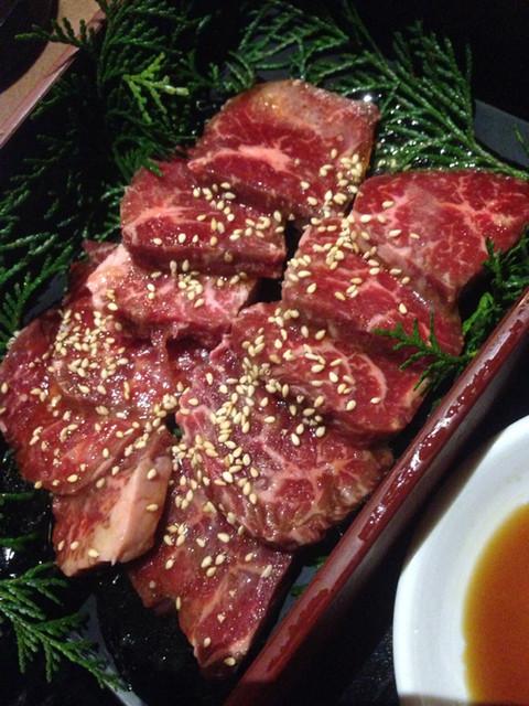肉家焼肉ゑびす本廛 - ダブルハラミ 拡大図