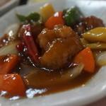中華料理 栄華 - 酢豚〜