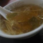 中華料理 栄華 - スープ