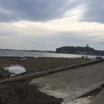 32174952 - 腰越海岸からの江ノ島