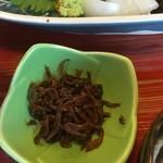 32175192 - 刺身定食小皿(釘煮)