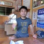 豆腐茶屋 佐白山のとうふ屋 - おやじボクサーと豆乳ソフト♫