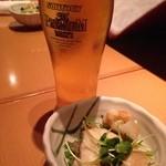 32175635 - 生ビール&お通し