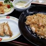 餃子の王将 - 料理写真:極王炒飯Aセット950円(税込)
