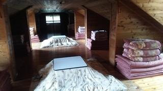 赤岳行者小屋 - コタツの大部屋