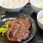 圭助 - 牛タン焼き定食(1.5人前)【2014年9月】
