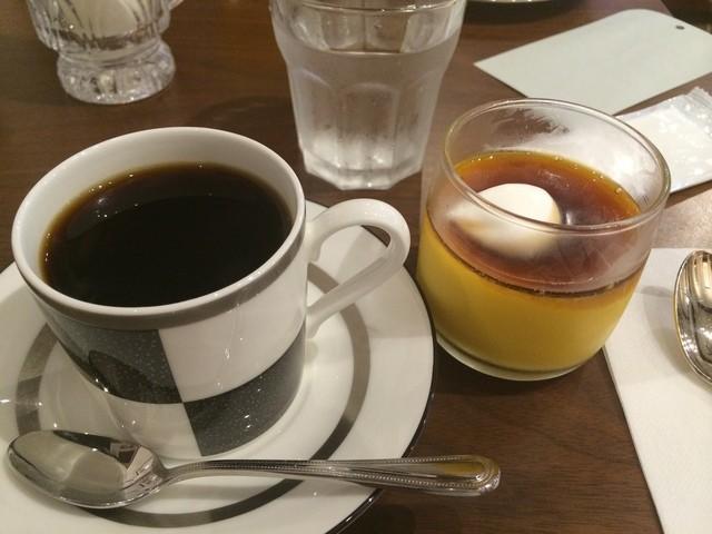 アビアント - ドリンクセット ブレンド(ノワール)とかぼちゃプリン