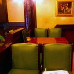 珈琲館 くすの樹 - 珈琲館くすの樹@西東京市 店内椅子席