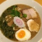 オサカナトンチャン - 魚介とんこつ優味(700円)
