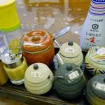 うどん sugita - 調味料