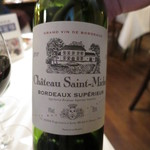 横濱元町 霧笛楼 - Chateau Saint-Michel Bordeaux Superieur (2014/10)
