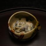 萩乃屋 - 料理写真:茸と柿の白和え