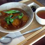 シュハリ六甘 - 京風咖喱≪京風カリー≫(単品で\850、2014年10月)