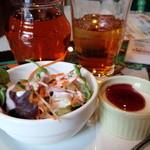 GOMBEI SPICE - 紅茶と、サラダとデザ~ト みんなにつきます