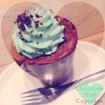 プロント - チョコレートミントカップケーキ