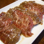 韓国料理ジャンチ村 - 生ハラミ