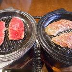 韓国料理ジャンチ村 - 和牛カルビ&生ハラミ