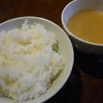 韓国料理ジャンチ村 - ライス&スープ