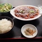 32195509 - 麻婆豆腐定食 650円