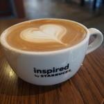 ネイバーフッド アンド コーヒー - カフェラテ*カップが大きい