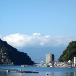 松濤館 - 【眺望】到着時の富士山