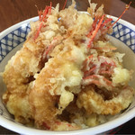 食事処 白帆 - しまえび天丼   ¥1,300