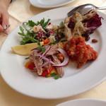 ナプレ - 魚介の前菜盛り合わせ