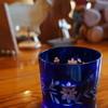 ビレッジボックス - 料理写真:水は、切り子のグラスで