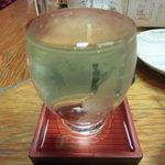 酒処かくえい - 通常メニューの日本酒(名前失念、確か酔心だったような・・・