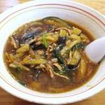 たいらん - 五香茄子湯麺(ウーシャンメン)