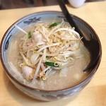 柳家 - 納豆ラーメン