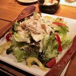 比内や - シーザーサラダ(580円)