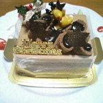 ハッピーバースデー - クリスマスケーキ