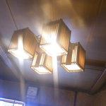 南樽砂場 - 懐かし照明