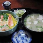 恵美福 - エビちらし寿司