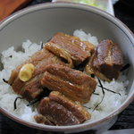恵美福 - 角煮丼