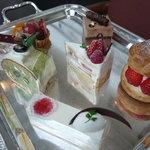レストランアマデウス - ☆可愛いケーキ達は出番を待っています(≧▽≦)/~♡☆