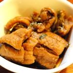 味処 とっくり - 揚げた太刀魚のポン酢漬け